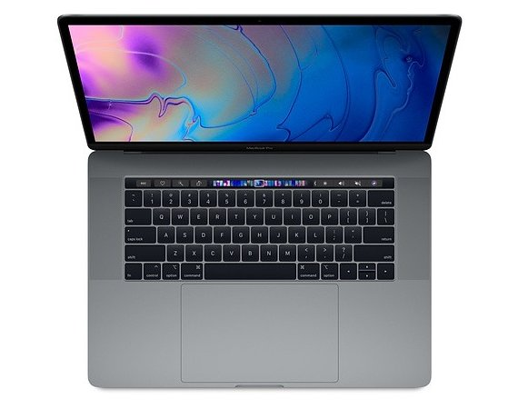 Apple MacBook Pro 15 Touch Bar. 2.6GHz i7/16GB/256GB/RP555X - Space Grey