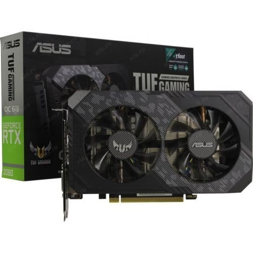 Asus Karta graficzna GeForce TUF RTX 2060 6GB Gaming GDDR6 192BIT 2HDMI/DP/DVI