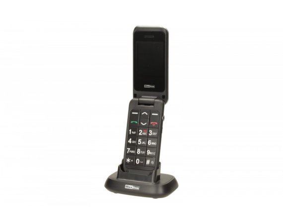 Maxcom MM 821 BB CZARNY Poliphone/Big button