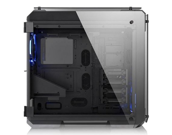 Thermaltake View 71 Riing Tempered Glass - Black