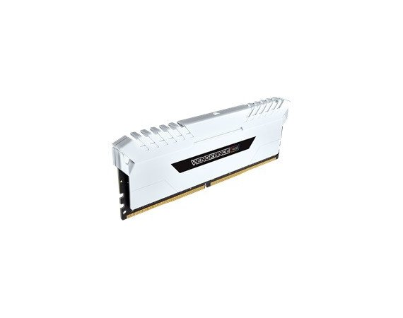 Corsair DDR4 Vengeance RGB LED 16GB/3200 (2*8GB) CL16-18-18-36 White    Heat spreader