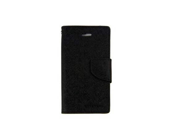 wel.com Etui skórzane Fancy do Apple iPhone 5/5s czarne