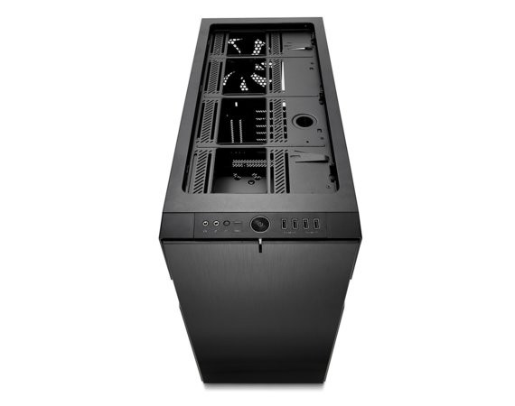 Fractal Design Obudowa Define R6 USB-C Blackout Tempered Glass