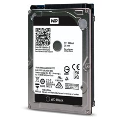 Western Digital HDD Black 500GB 2,5'' 32MB SATAIII/7200rpm