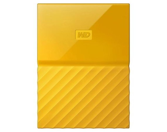 Western Digital MY PASSPORT 1TB 2,5' yellow WDBYNN0010BYL-WESN