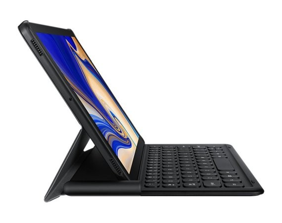Samsung Etui Keyboard Book Cover Tab S4 czarne