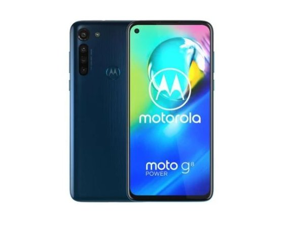 Motorola Smartfon  Moto G8 Power 4/64GB,DS, Capri Blue
