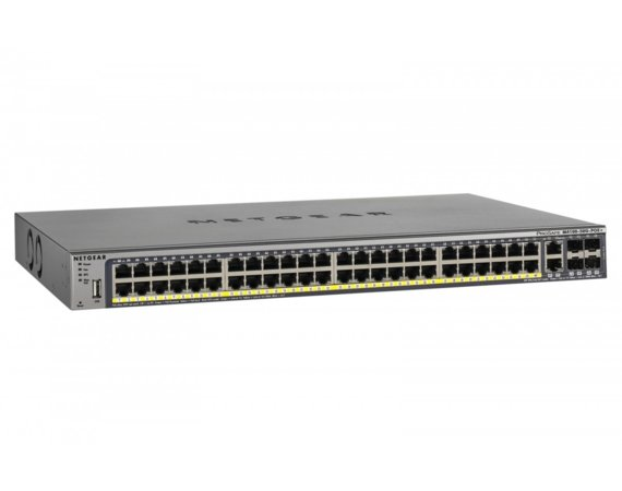Netgear Switch M4100 Managed 50xGE 4xSFP (48xPoE+) - GSM7248P