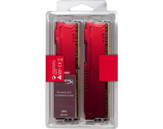 HyperX DDR4 Fury Red 16GB/2133 (2*8GB) CL14