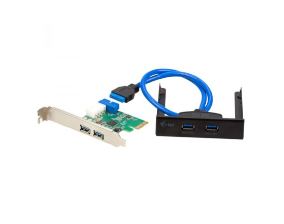 i-tec USB 3.0 Extension kit zestaw PCI Express 4 x USB 3.0 + Extender na przedni panel 2x USB 3.0