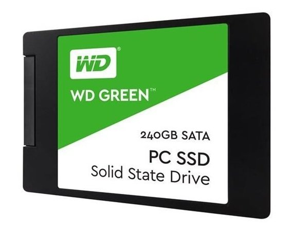 Western Digital Green SSD 240 GB 2,5'' 3D WDS240G2G0A