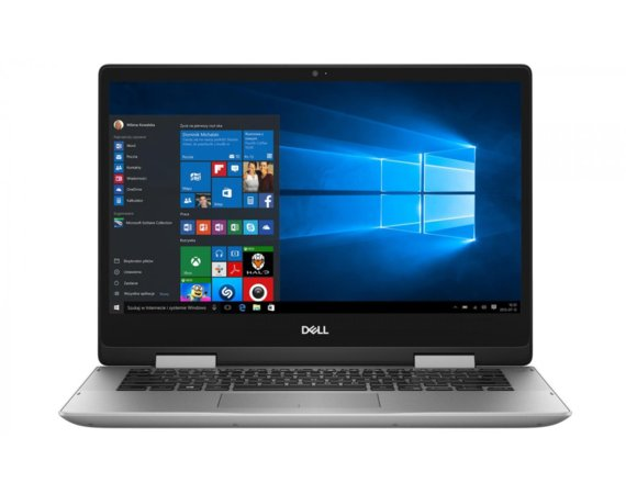 Dell Laptop Inspiron 14-5482 277249SA i7-8565U/14 FHD TouchScreen/8GB/SSD 256GB/BT/BLKB/x360/Win 10 Gray Repack