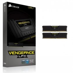 Corsair DDR4 Vengeance LPX 16GB/3000(2*8GB) CL15-17-17-35 BLACK 1,35V                                                                                 XMP 2.0