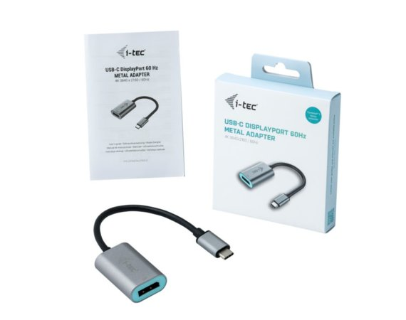 i-tec Adapter USB-C 3.1 Display Port 60 Hz Metal
