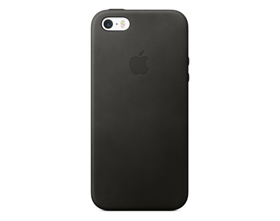 Apple iPhone SE Leather Case Black MMHH2ZM/A