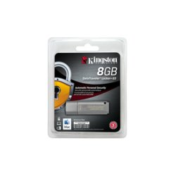 Kingston Data Traveler Locker G3 8GB USB 3.0 Data Security
