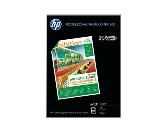 HP Inc. PAP PHOTO LASER GLOSS 200g A4 100ark    CG966A