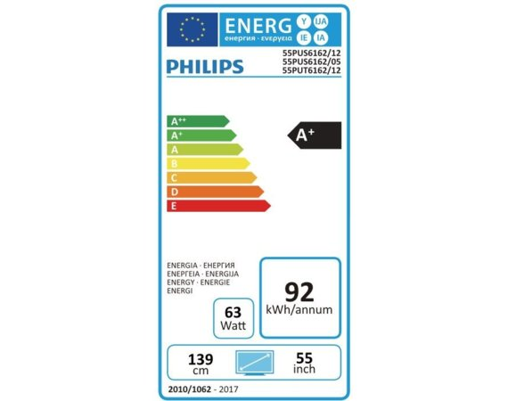Philips 55'' LED 55PUS6162/12