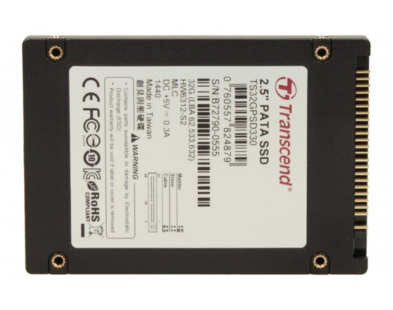 Transcend 330 32GB 2.5' IDE 119/36 MB/s