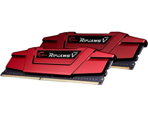 G.SKILL DDR4 8GB (2x4GB) RipjawsV 2400MHz CL15 XMP2 Red