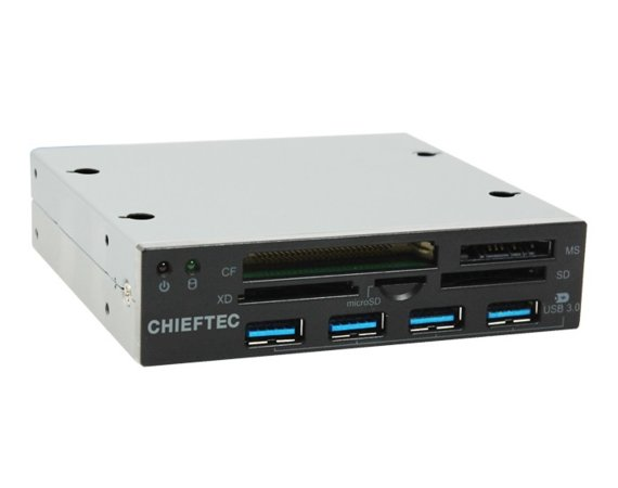 Chieftec CRD-801H Card Reader 3,5'' 4 x USB 3.0