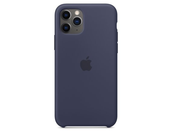 Apple Silikonowe etui do iPhone 11 Pro - nocny błękit