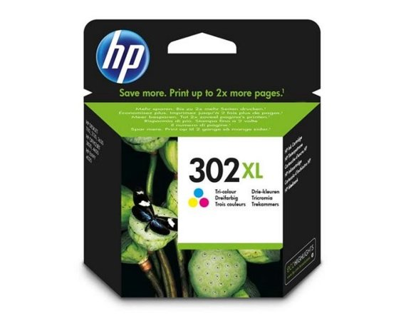 HP Inc. Tusz nr 302XL Tri-Colour F6U67AE