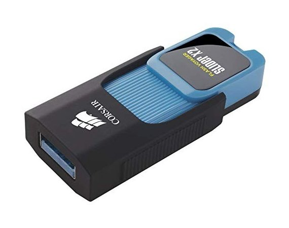 Corsair Pendrive VOYAGER Slider X2 64GB USB3.0 Read 130MBs