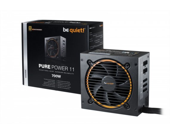 Be quiet! Zasilacz Pure Power 11 CM 700W 80+ GOLD BN299