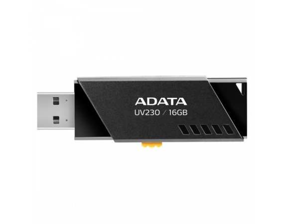 Adata Pendrive UV230 16GB USB2.0 Czarny
