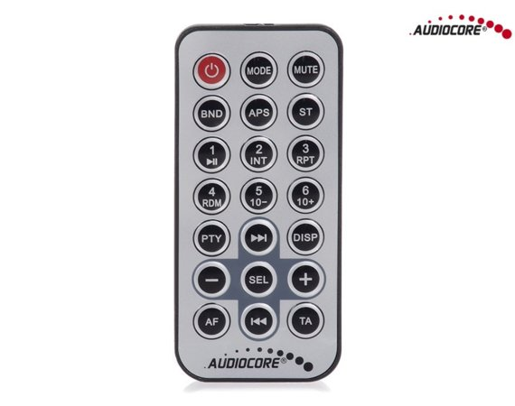 Audiocore Radioodtwarzacz AC9720 B MP3/WMA/USB/RDS/SD ISO Bluetooth Multicolor