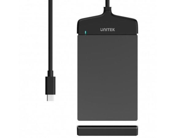 Unitek Adapter USB 3.1 TYP-C do SATA III 6G, 2,5 HDD/SSD; Y-1096A