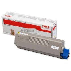 OKI Toner-C610 YELLOW 44315305
