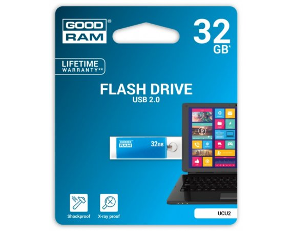 GOODRAM CUBE 32GB USB2 BLUE
