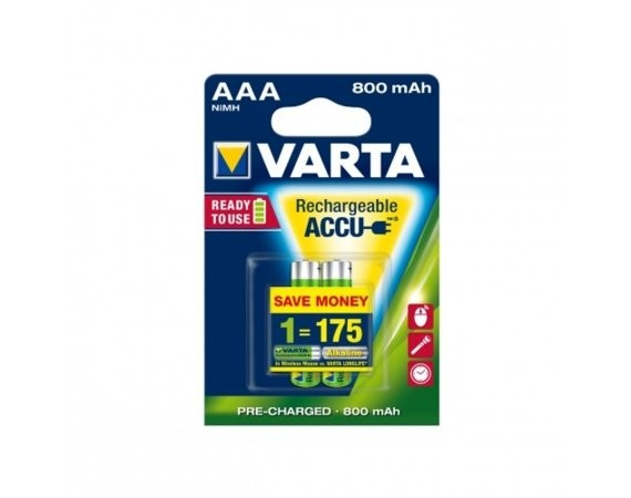 Varta Akumulatory R3 800 mAh 2szt. ready 2 use
