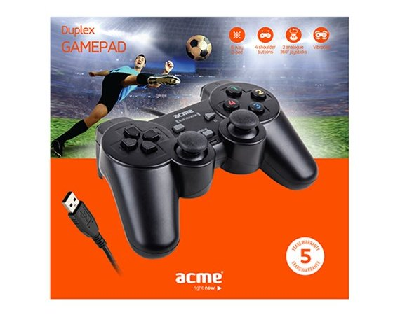 ACME Europe Gamepad do PC GA07 Duplex