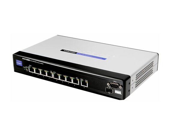 Cisco SRW208-EU switch L2 8x10/100 1xRS232 Rack 19''