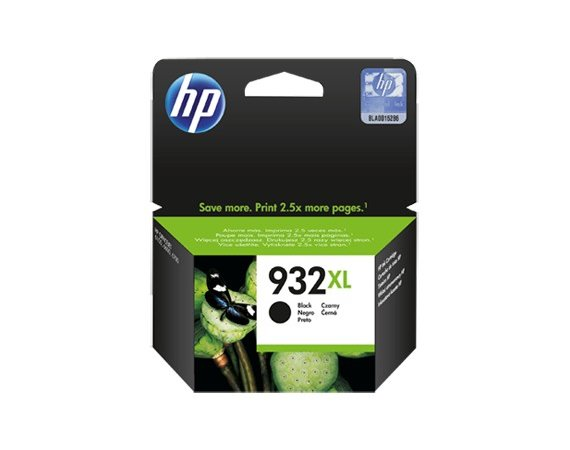 HP Inc. Tusz nr 932XL Black CN053AE