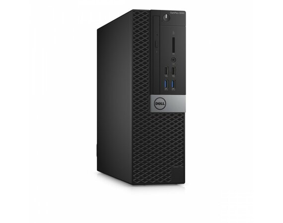Dell Optiplex 3040SFF Win7/10Pro (64-bit win10, nosnik) i5-6500/128GB/4GB/DVDRW/Integrated/KB216/MS116/3Y NBD
