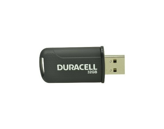 Duracell Flash Drive 32GB USB 2.0 Performance
