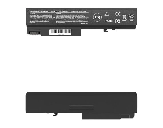 Qoltec Bateria do HP EliteBook 6930p 8440P, ProBook 6550B, 4400mAh,     10.8-11.1V
