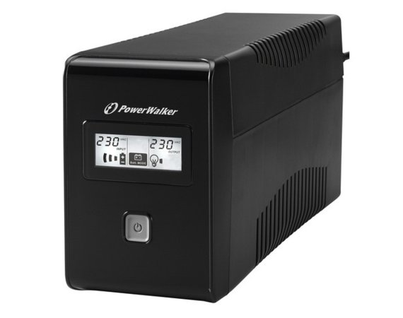 PowerWalker UPS POWER WALKER LINE-INTERACTIVE 650VA 2X 230V PL OUT, RJ11     IN/OUT, LCD