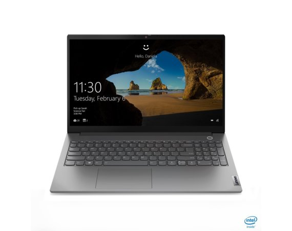 Lenovo Laptop ThinkBook 15 G2 20VE0005PB W10Pro i7-1165G7/16GB/512GB/INT/15.6 FHD/Mineral Grey/1YR CI