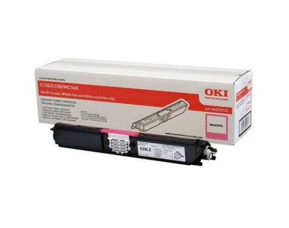 OKI Toner MAGENTA  2.5k  do C110/C130/MC160 44250722
