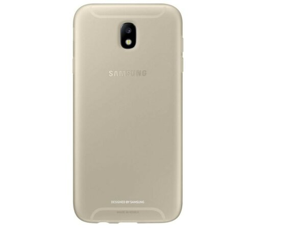 Samsung Etui Jelly Cover Gold do J7(2017)