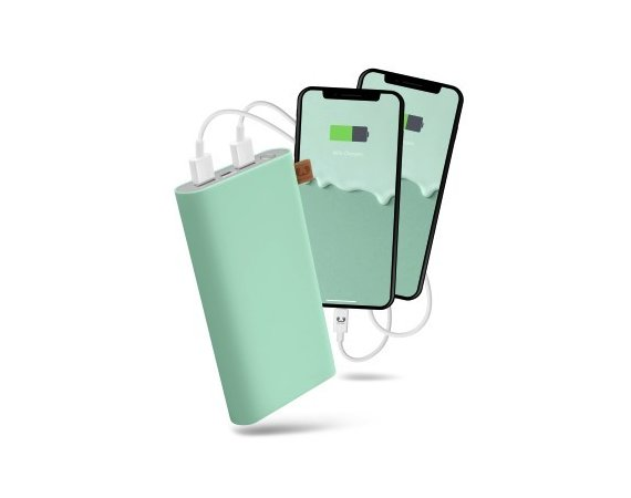 Fresh'n Rebel Powerbank 18000 mAh Peppermint