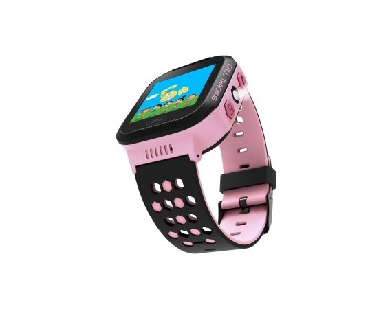 ART Watch Phone Go z lokalizatorem GPS różowy