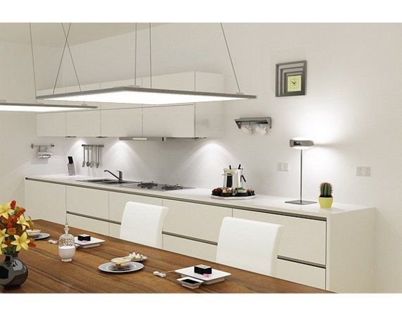 Maclean Panel LED sufitowy slim Led4U 40W Nature white 4000-4500K LD100 60x60 raster