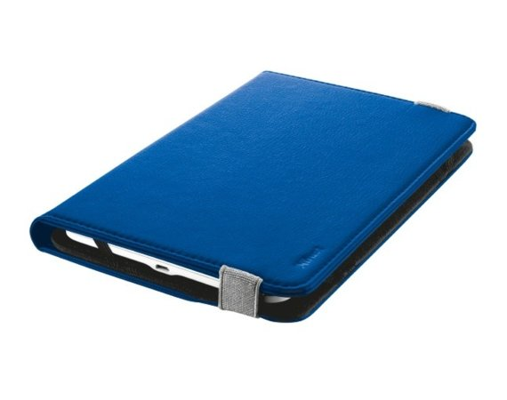 "Trust Primo Folio Case with Stand for 7-8"" tablets - blue"