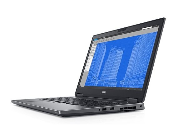 Dell Notebook Precision M7730 Win10Pro i7-8850H/256GB SSD/16GB/P3200/17,3 FHD/FPR/SCR/3Y NBD